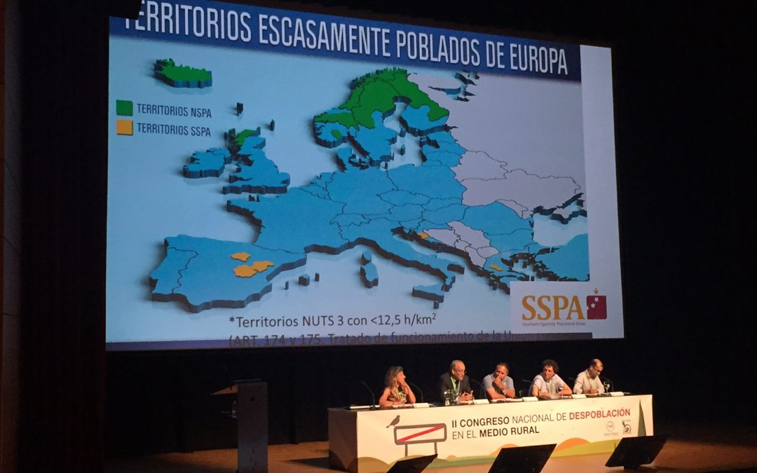 – SSPA exposes the successful case of development and demographic increase in the Highlands and Islands of Scotland in Huesca during the II National Congress of Depopulation