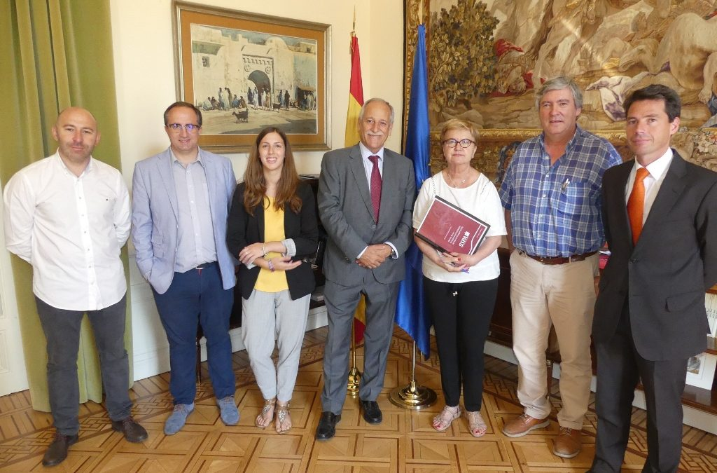 -SSPA transfers its proposals to the new Spanish Demographic Challenge Commissioner, Isaura Leal