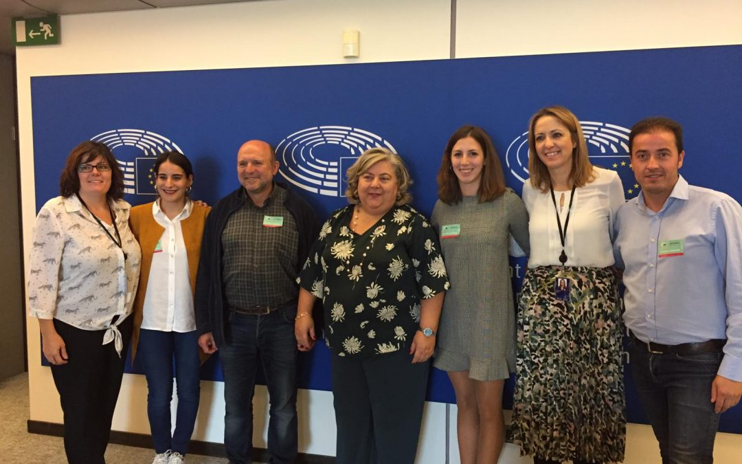 The SSPA network meets with MEPs for depopulation in the European Week of Regions and Cities